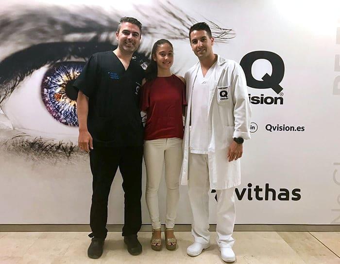 Clinica Qvision Becas ana hidalgo