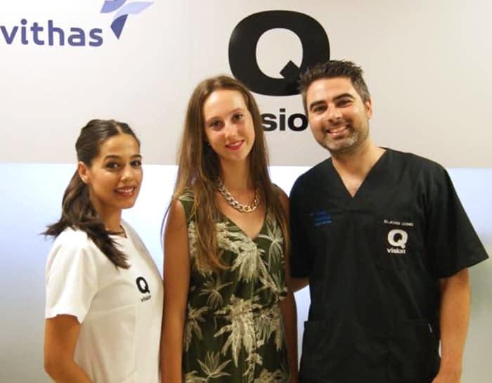 Clinica Qvision Becas maria del mar martinez